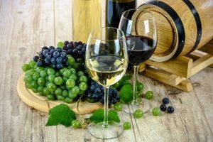 dva pohare vina